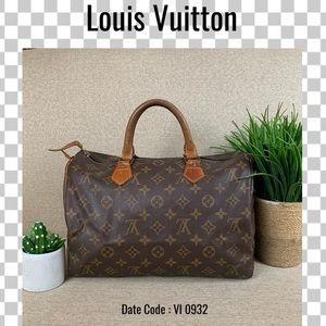 Louis Vuitton satchel bag 30 Speedy